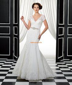 e4ce45082b8844 Printemps 2014 Dentelle Naturel Robes de mariée 2014 Wedding Dresses 2014