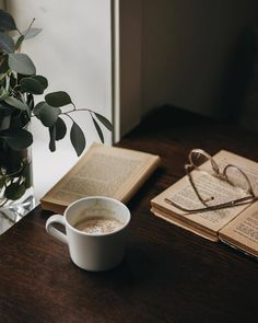I Love Coffee, Coffee Break, Coffee Time, Book Aesthetic, You Working, Finding Peace, Decoration, In This Moment, Photo And Video