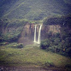 Baños de Agua Santa in Baños, Provincia del Tungurahua