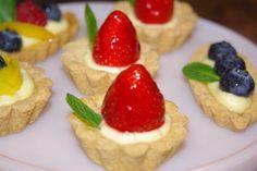 Mini Fruit Tartletes.