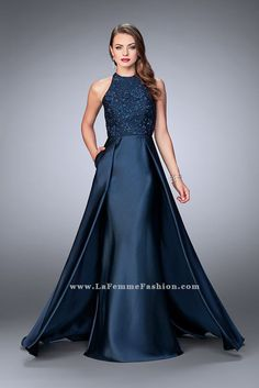 La Femme - 24252 - All Dressed Up, Prom Dress