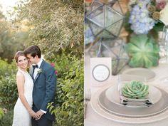 succulent wedding inspiration - photo by Amy and Jordan Photography http://ruffledblog.com/paradise-valley-wedding-inspiration