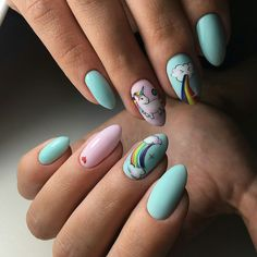VK is the largest European social network with more than 100 million active users. Round Nails, Oval Nails, My Nails, Fancy Nails, Trendy Nails, Turqoise Nails, How To Grow Nails, Fire Nails, Dream Nails