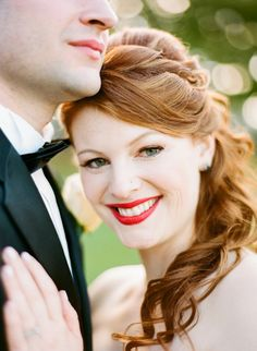 Vintage Inspired Wedding from Arielle Doneson Photography. To see more: http://www.modwedding.com/2014/09/23/vintage-inspired-wedding-arielle-doneson-photography/ #wedding #weddings #hairstyle