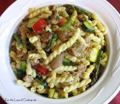 8.26.11 Turkey Sausage Pasta