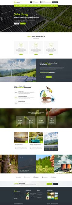 Buy Green Magic : Environmental PSD Template by VictorThemesNX on ThemeForest. Green Magic : Environmental PSD Template suitable for all types of go green businesses. Layout Design, Website Design Layout, Web Layout, Web Design Tools, Creative Web Design, Tool Design, Flat Design, Design Ideas, Maquette Site Web