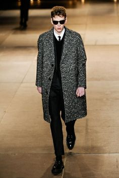 SAINT LAURENT Uomo Parigi - autunno inverno 2015