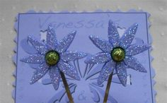 Blue Flower Hair Pin, Blue Hair Flowers Bobby Pins, Flower Hair Pin Set, Floral Bobby Pins, Daisy Hair Pins, Hair Accessories Blue Flowers by NeedleCraftNook on Etsy free  domestic shipping +use CIJ25 at checkout for extra savings Expires 7-25-17  #handmade #sale #hairaccessories #hairpins