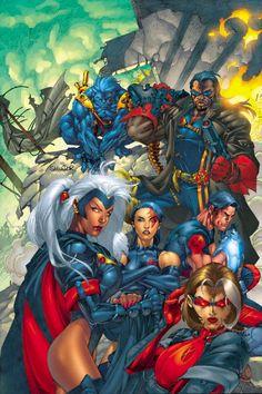 X-TREME X-MEN #1//Salvador Larroca/L/ Comic Art Community GALLERY OF COMIC ART