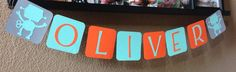 Modern Robot Party Banner Bunting by CelebrationBee on Etsy