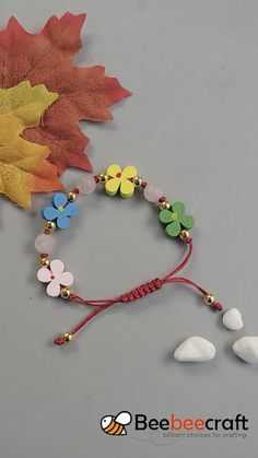 handmade jewelry diy bracelets ideas * handgemachter schmuck diy armbänder ideen * joyería hecha a mano diy pulseras ideas Bead Jewellery, Jewelry Making Beads, Wire Jewelry, Bracelet Making, Flower Jewelry, Jewellery Making, Making Beaded Bracelets, Hemp Jewelry, Jewellery Display