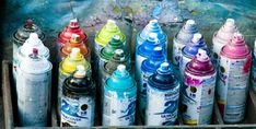 Photography art graffiti spray paint spray can paint colors ...