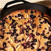 Peach & Blueberry Cobbler      5 weight watcher points+ per serving/10 servings