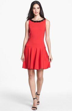 Erin by Erin Fetherston 'Eleanor' Embellished Fit & Flare Dress   Nordstrom