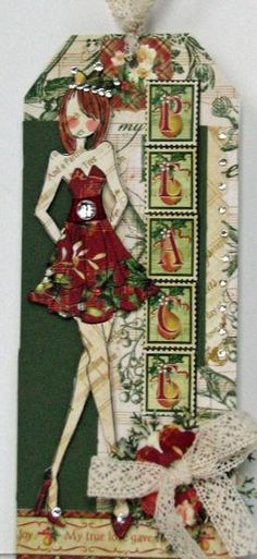 Prima Doll Peace by Serenity_Stamper - Cards and Paper Crafts at Splitcoaststampers