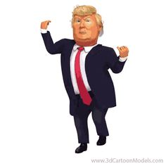 This Is America Donald Trump Caricature Dance – Dedipic Dancing Animated Gif, Gif Dance, Funny Dancing Gif, Funny Emoticons, Funny Emoji, Hi Gif, Caricatures, Donald Trump Caricature, Happy Dance