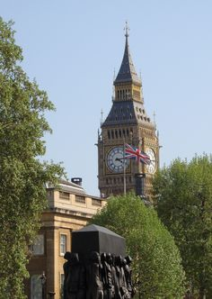 Clock Tower / Big Ben, Palace of Westminster (Houses of Parliament), London