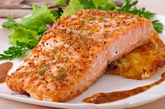 Meal prep recipe for Maple Dijon baked salmon for an easy, delicious weeknight meal. Prepaheadable Maple Dijon Salmon is an excellent dish for entertaining. Salmon Recipes, Fish Recipes, Seafood Recipes, Cooking Recipes, Healthy Recipes, Tilapia Recipes, Cooking Ideas, Roasted Salmon, Grilled Salmon