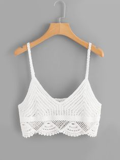 Crochet Cami Tops, Crochet Bikini Pattern, Crochet Summer Tops, Crochet Blouse, Knit Crochet, Crochet Baby, Crochet Clothes, Diy Clothes, Clothes For Women