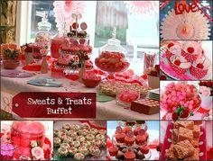 Schön Valentine Birthday Party, Mollyu0027s 6th | Parties Iu0027ve Thrown | Pinterest |  Birthdays, Party Sweets And Birthday Party Ideas