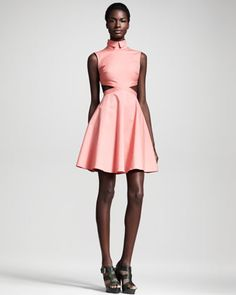 Austin Cutout  A-line Dress by Opening Ceremony at Bergdorf Goodman.