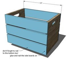 Build a Vintage Crate Carts | Free and Easy DIY Project and Furniture Plans