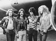 Jimmy Page, Robert Plant, John Bonham, & John Paul Jones are Led Zeppelin.
