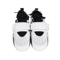 Perforated Thick-Soled Sneakers