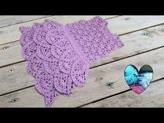 Vestido con volantes maravilloso tejido a crochet paso a paso DIY parte 2/2 - YouTube