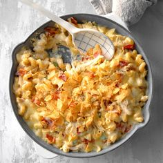 I've been working to perfect a creamy, spicy mac and cheese for years. After adding smoky bacon, chicken, jalapenos and spicy cheese, this is the ultimate! I use rotisserie chicken and precooked … Spicy Mac And Cheese, Macaroni And Cheese, Mac Cheese, Pasta Dishes, Food Dishes, Main Dishes, Cheese Dishes, Mac Recipe, Lard