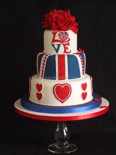 I love this wedding cake