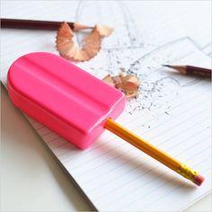 アイスキャンディーの鉛筆削りがおもしろい。おすすめの手動鉛筆削り器をまとめて紹介。