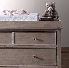 Changing Tables   Restoration Hardware Baby & Child Dresser topper