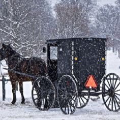 Amish transportation, Tuscarawas County, Ohio