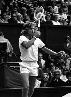 Björn Borg | tennis legend | vintage | black & white | old school tennis fashion |