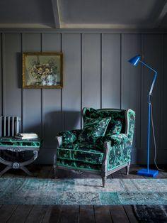 Matthew Williamson for Duresta bespoke furniture range - Marble Butterfly chair