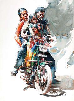 RajKumar- watercolour