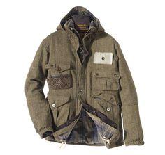 Wool Fishing Jacket | Barbour
