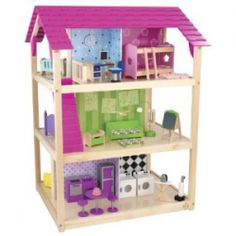 A wooden dollhouse is something that can stimulate your child's mind and imagination and provide entertainment for years too.    Here are some wooden...