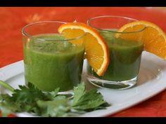 Batido verde para bajar la barriga y perder peso