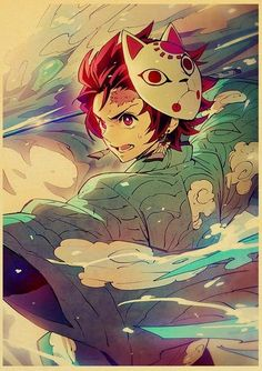 Demon Slayer: Kimetsu no Yaiba Tanjirou Nezuko Anime Poster - 42X30cm / E169 18