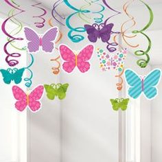 Ceiling party decs - many occasions now available