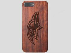Baltimore Ravens Wooden iPhone 7 Plus Case