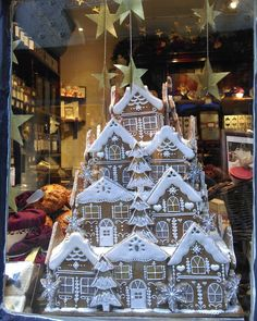 "15 Likes, 2 Comments - Christy Scott (@blue_teacup) on Instagram: ""Christmas window at Betty's #bettysofyork #York #nofilter #nofilterneeded #gingerbreadhouse…"""