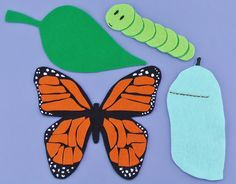 Looking for ideas for preschool circle time activities? Find flannel board ideas and preschool and toddler classroom activities here. Butterfly Games, Butterfly Felt, Butterfly Life Cycle, Butterfly Crafts, Flannel Board Stories, Felt Board Stories, Felt Stories, Flannel Boards, Circle Time Activities