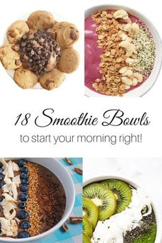 18 Smoothie Bowls to Start Your Morning Right | The Refreshanista