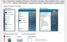 Classic Shell , ripristinare START+Tutti i programmi in Windows 8 e 8.1 #classicshell #menustartavviowindows8