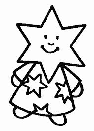 Znalezione obrazy dla zapytania kolorowanki gwiazdki