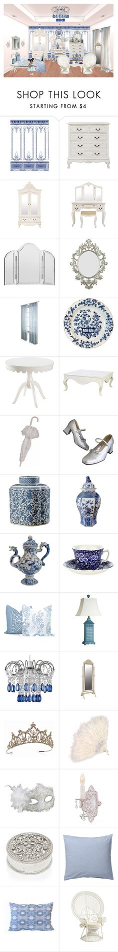 """""""Untitled #675"""" by bamasbabes on Polyvore featuring interior, interiors, interior design, home, home decor, interior decorating, Royal Delft, Kenroy Home, Home Decorators Collection and Bungalow 5"""