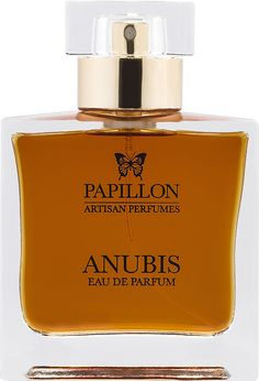 Egyptian Jasmine. Pink Lotus. Suede. Immortelle. Frankincense. Saffron.   With a name inspired by the Egyptian God of the afterlife, Anubis embodies the sacred mysteries of Ancient Egypt. Heady blooms of jasmine, amid rich suede, smoulder over an incense laden base of frankincense, sandalwood, and labdanum.  Vivid slashes of immortelle, pink lotus and saffron create a perfume shrouded in darkness and veiled in mystery.